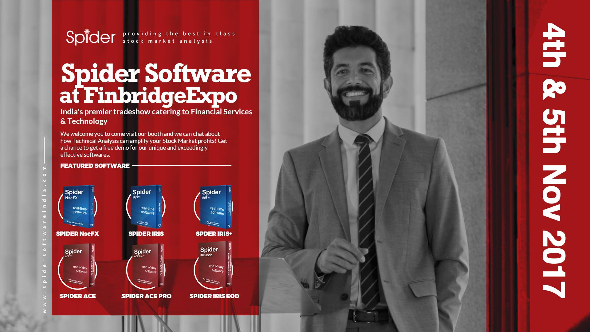 SpiderSoftware Finbridge Expo
