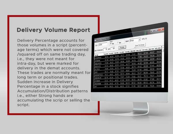 Delivery Volume Report - Spider Software