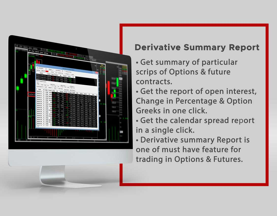 Derivative Report Summary - Spider Software